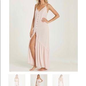 Light pink Billabong Maxi dress
